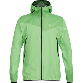 SALEWA Agner Powertex 3 Layer-Jacket Herren fluo green
